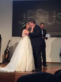 Custom made ballgown wedding dress made by Ziva Wedding Dresses