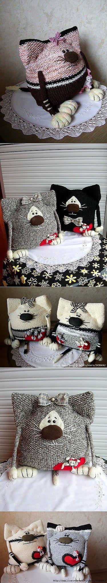 Забавные кото-подушки :) | игрушки | Постила