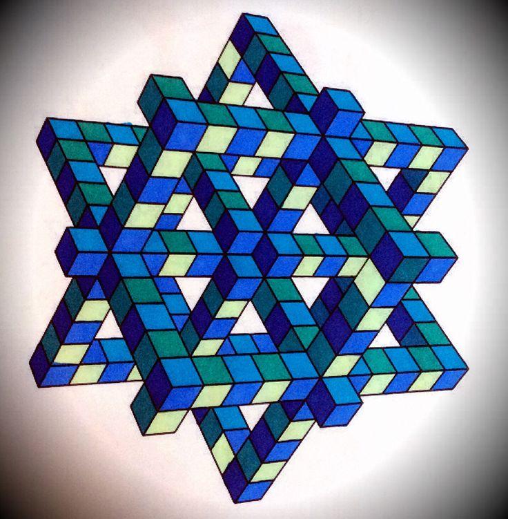 Geomatric coloring