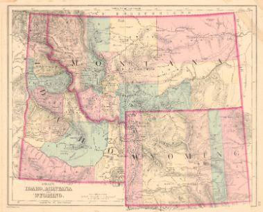 Gray S Idaho Montana And Wyoming O W Gray Son Gray Frank A