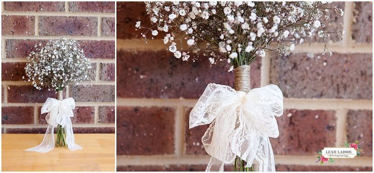 How good is baby's breath?! | Bendigo Wedding