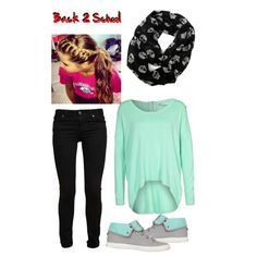 best outfit for first day of school 7th grade girl - Google Search