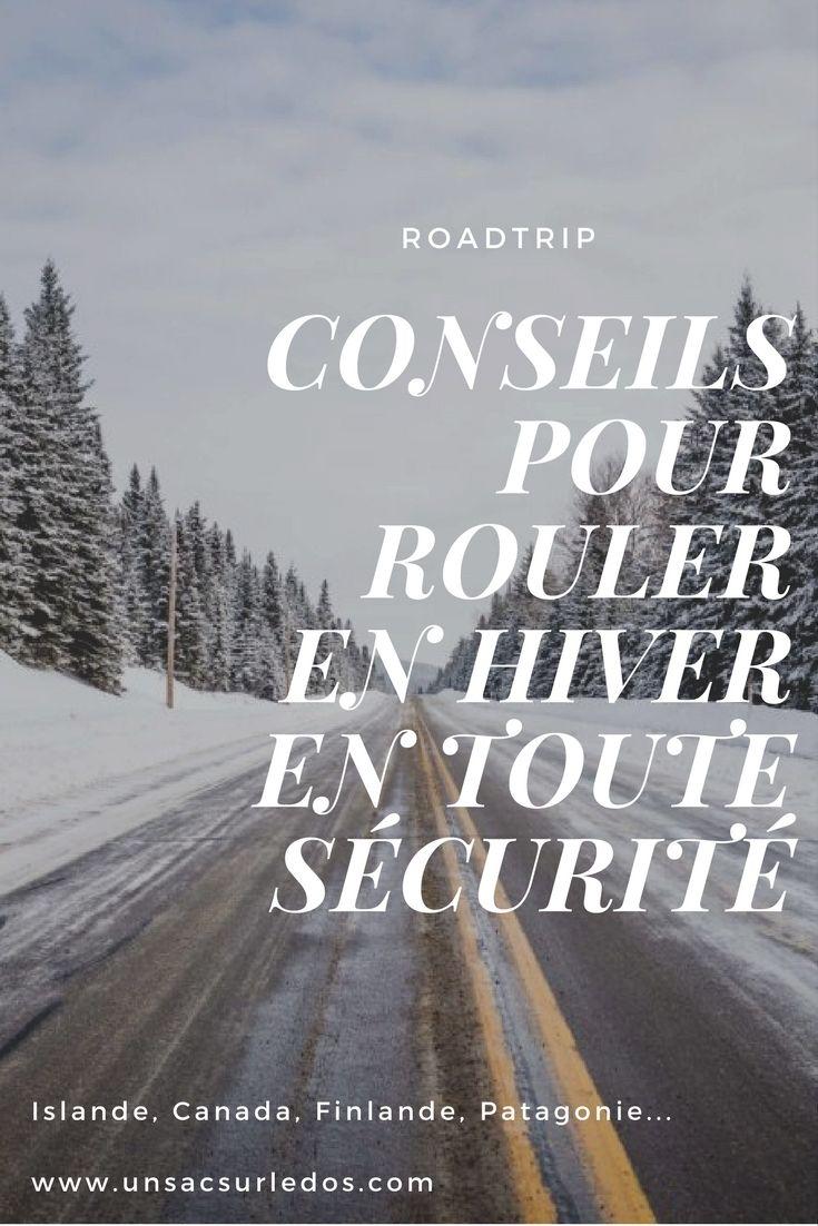Un roadtrip prévu cet hiver dans une contrée polaire ? Pas de panique ! Voici nos conseils pour louer une voiture et conduire en toute sécurité, qu'il vente, qu'il pleuve ou qu'il neige ! #conseils #voyage #voyageur #roadtrip #voiture #location #conduite #neige #verglas #glace #securite #hiver #saison #danger