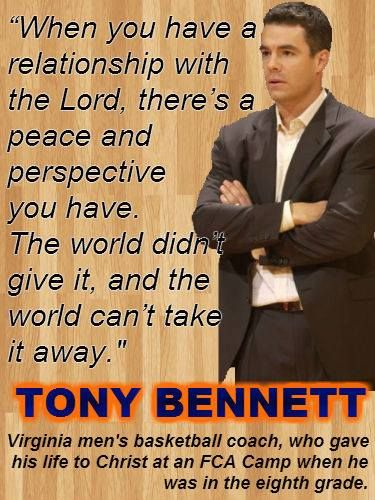 University of Virginia Men's Basketball Coach Tony Bennett