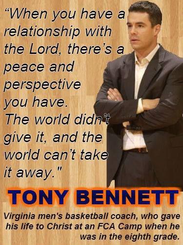 University of Virginia Men's Basketball Coach Tony Bennett