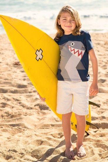 Friendly Shark Tee by Stella McCartney Kids