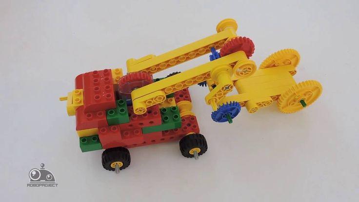 Лего Первые механизмы  Эвакуатор