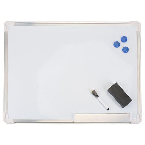 Tableau blanc magn tique 45x60cm access fournitures de - Tableau blanc magnetique ikea ...
