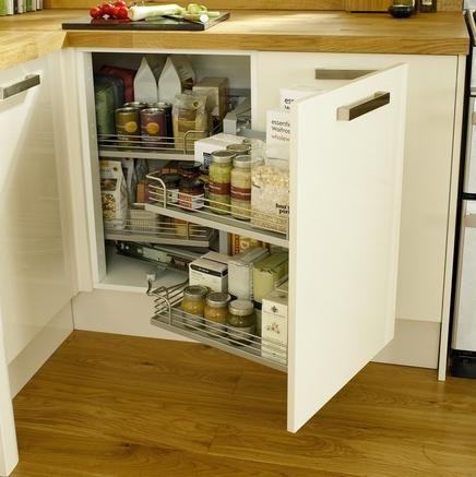 corner storage unit kitchen storage solutions howdens