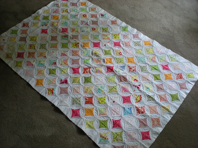 45 best Sewing - Cathedral Windows Plus images on Pinterest ... : cathedral window quilt block instructions - Adamdwight.com