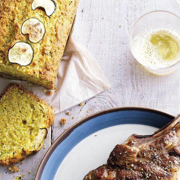 "Zucchini Cornbread - ""This zucchini-flecked cornbread walks a delicious line between sweet and savory."""