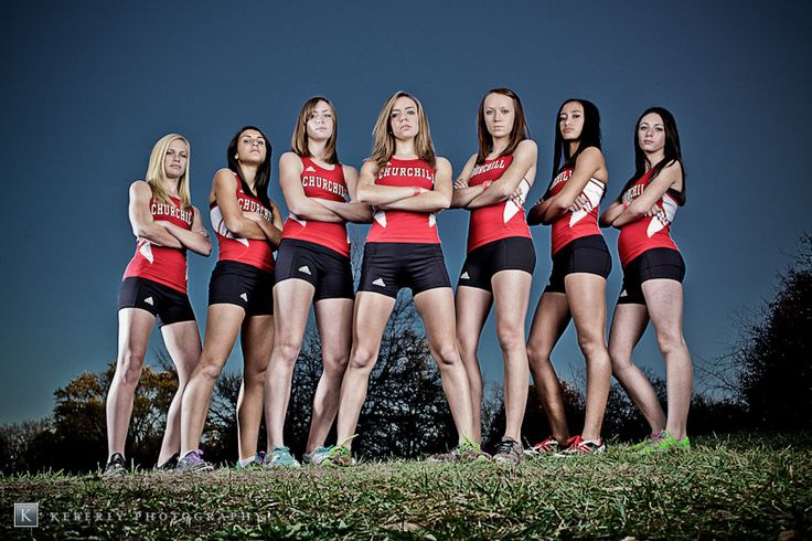 Senior Portrait / Photo / Picture Idea - Track / Cross Country - Team