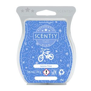 Help kids drift into dreamland with this soothing blend of baby freesia, lavender and sweet pea. Perfect for bedrooms and evening baths.    Each bar contains 8 cubes and the complete Scentsy wax bar offers between 80 to 100 hours of fragrance.