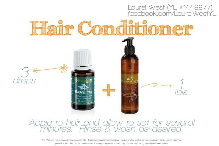 Young Living Essential Oils: Hair Conditioner