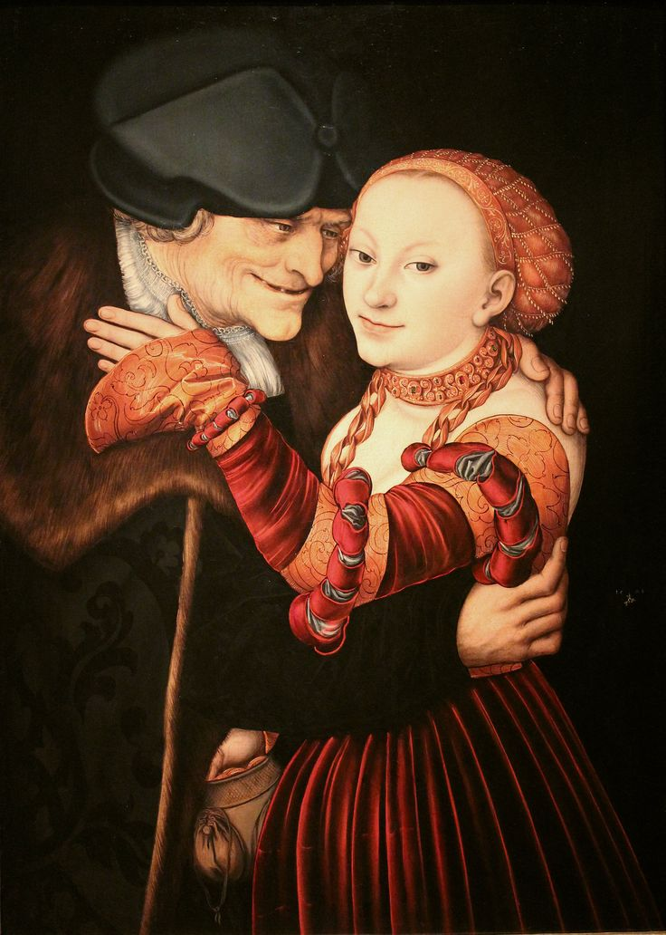 "Lucas_Cranach_- ""NIEDOBRANA PARA"""