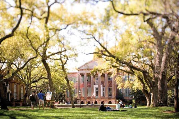 The College of Charleston is the oldest university in South Carolina and the 13th oldest in the US.