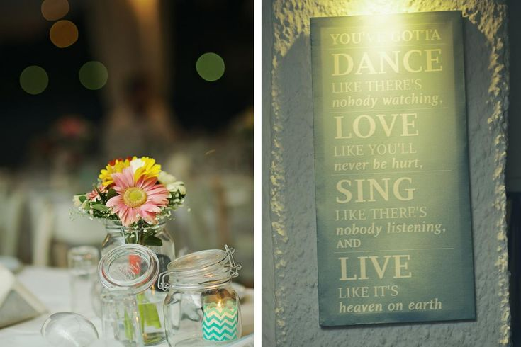 Grand 'souxe' Wedding, deco blue, simple, colours, wedding quote, greece, cyclades | lafete