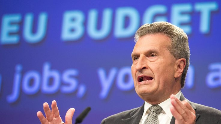 Brexit 'will blow hole in budget', EU commissioner warns https://tmbw.news/brexit-will-blow-hole-in-budget-eu-commissioner-warns  The UK's departure from the EU will leave a budget shortfall of at least €10bn (£8.8bn; $11.4bn), the budget commissioner has warned.Günther Oettinger said the bloc must either spend less or find new money to fill the gap, equivalent to an estimated 16% of the entire budget.Among the options on the table could be less generous payments to farmers or a tax on…