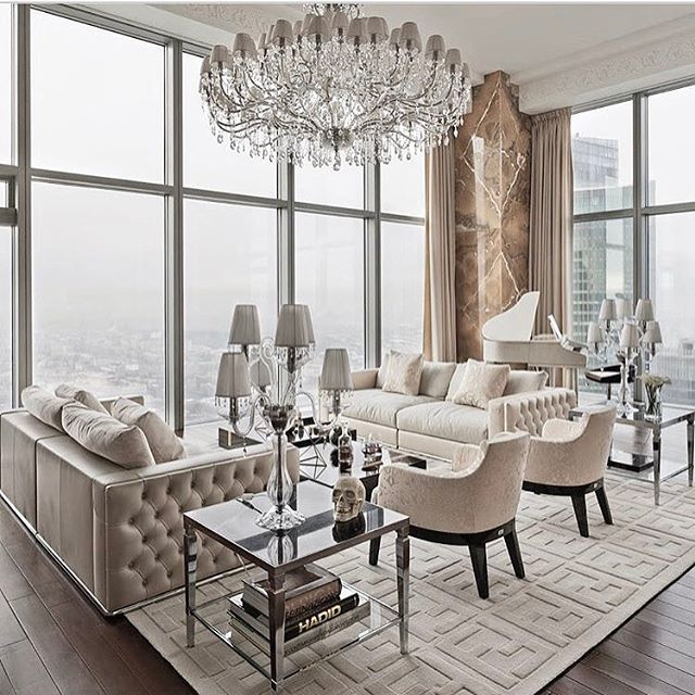 Have You Thought About Having Handmade Items In Your Home So Do Not Waste Any More Time And Vi Beige Living Room Decor Glam Interior Design Luxury Living Room #velvet #tufted #living #room #set