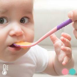 Colheres para Bebé com Sensor de Calor (conjunto de 2)