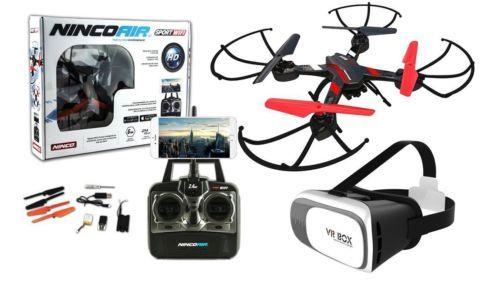Drone radiocontrol con cámara modelo Quadrone Sport WIFI 2 FPV+ Gafas VR. - http://www.midronepro.com/producto/drone-radiocontrol-con-camara-modelo-quadrone-sport-wifi-2-fpv-gafas-vr/