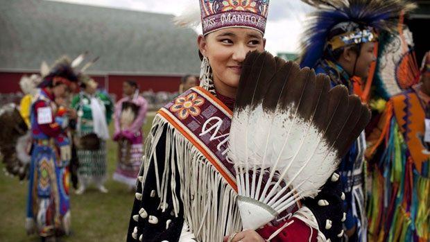 Ces les peuples autochones dans la Terre-Neuve-et-Labrador. Ils sont les Inuit et mi'kmaq. (Maxden)