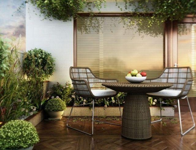 Die besten 25+ Platzsparende balkonmöbel Ideen auf Pinterest - balkonmobel fur kleinen balkon ideen