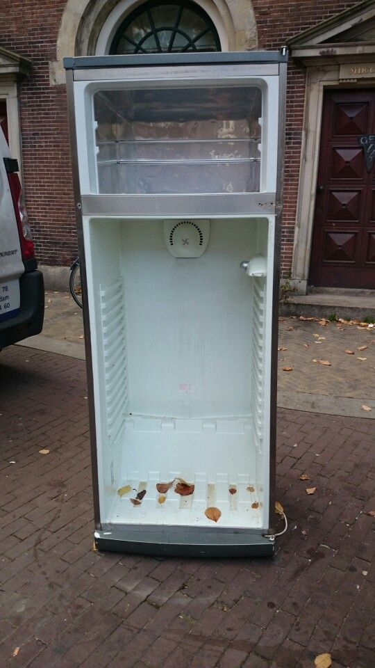 Koelkast zonder deuren