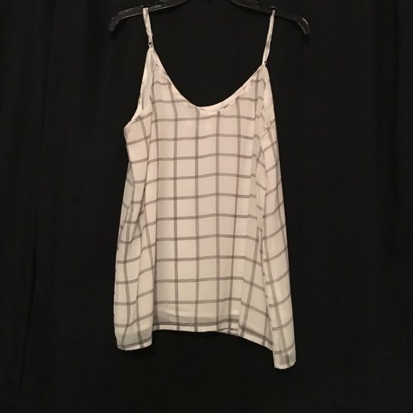 Cami top Black and white cotton on cami top. Never worn but no tags. Cotton On Tops Blouses