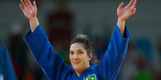 Judoca Mayra Aguiar garante a terceira medalha do Brasil nos Jogos Rio 2016