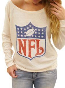 NFL Shield Field Goal Fleece w/ Embroidery - - Junk Food Clothing