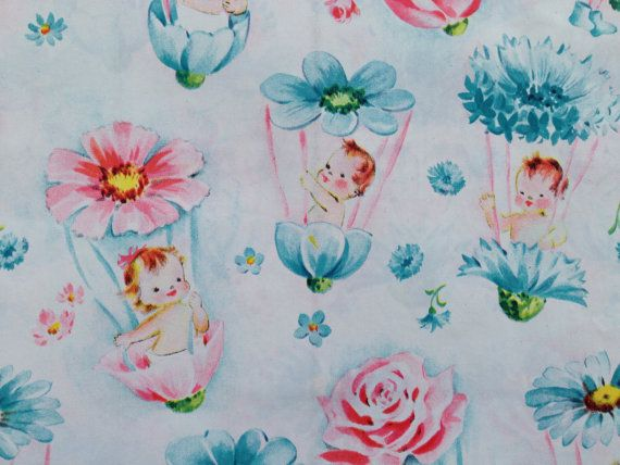 Vintage Gift Wrapping Paper By Kaycrest Baby Shower Petal