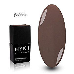 NYK1 NAILAC - RUBBLE - Professional Shellac Gel Nail Polish - UV & LED Drying - Quick Soak Off Gel Polish 10ml - Over 100 Shellac Colours to Choose From!: Amazon.co.uk: Beauty
