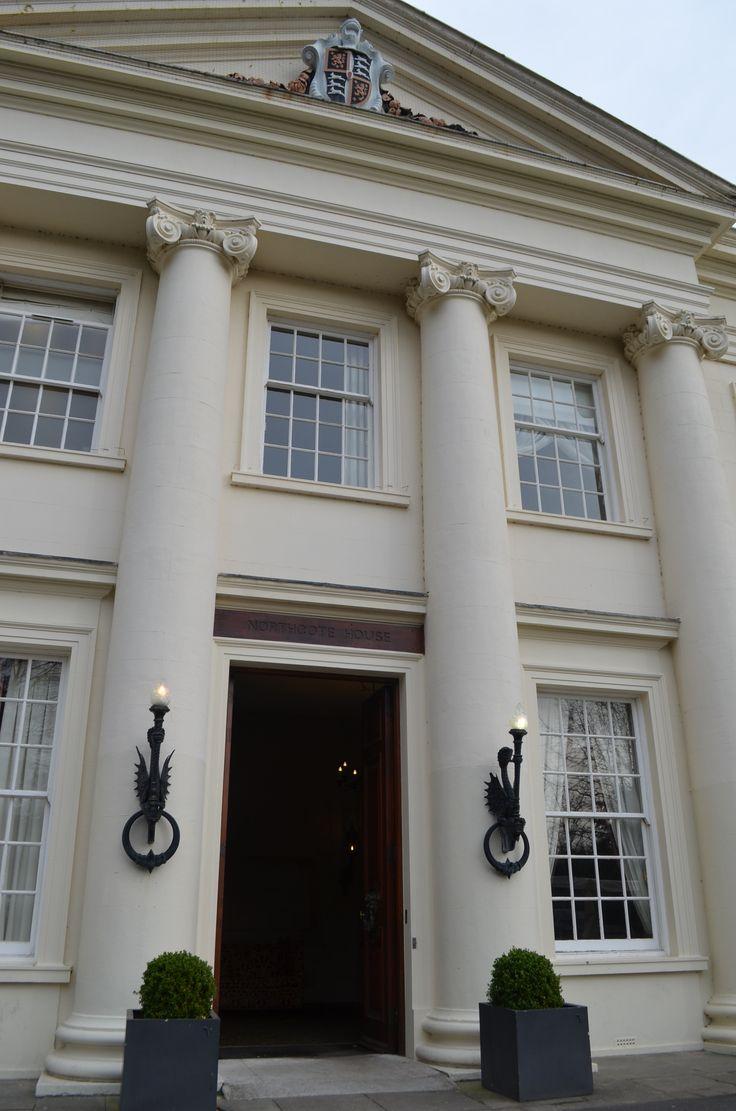 Grand Entrance Of Northcote House Ascot