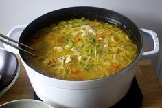 my ultimate chicken noodle soup #smittenkitchen