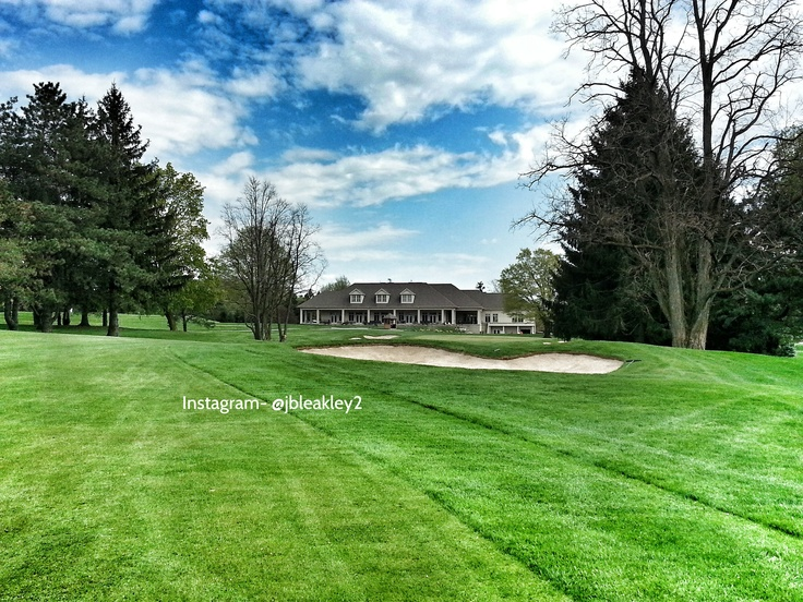 Beverly #Golf and Country Club #Fairway #Sandtrap #Bunker #18th #hole #Gorgeous #Finishing #hole