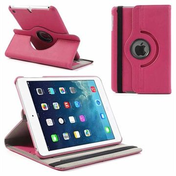 Rotary Läderfodral till iPad Mini, iPad Mini