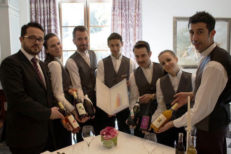 Il Palagio restaurant team with some our Gourmet Juices!
