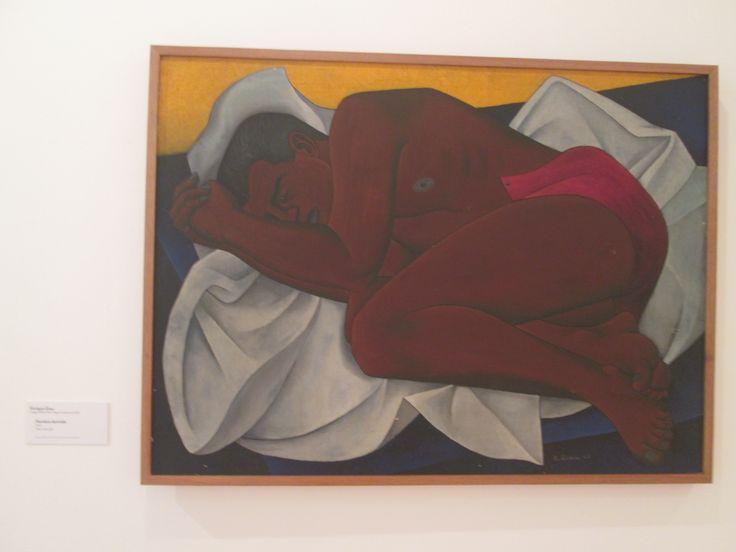 Enrique Grau  Hombre dormido.