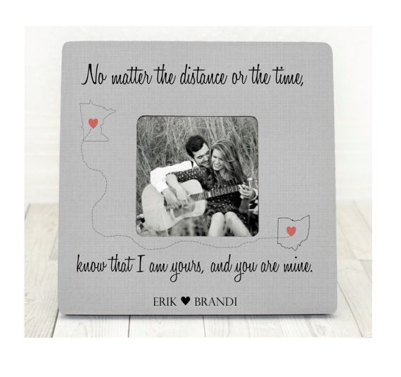 True Love Map Personalized Picture Frame true by BrandonScottAD