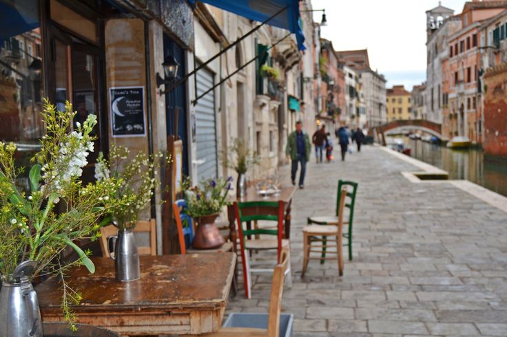 Venice streets - you can never get enough of them.