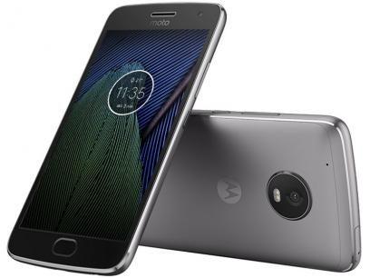 """Smartphone Moto G5 Plus 32GB Platinum Dual Chip - Câm. 12MP + Selfie 5MP Tela 5.2"""" Octa Core Desbl. com as melhores condições você encontra no Magazine Luizadoeduardo. Confira!"""