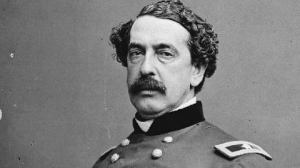 Abner Doubleday was the Al Gore of his time...but with baseball. Despite repeatedly being credited with inventing the game, his real claim to fame was being 2nd in charge (Major Anderson was commanding) at Fort Sumter when the war started.