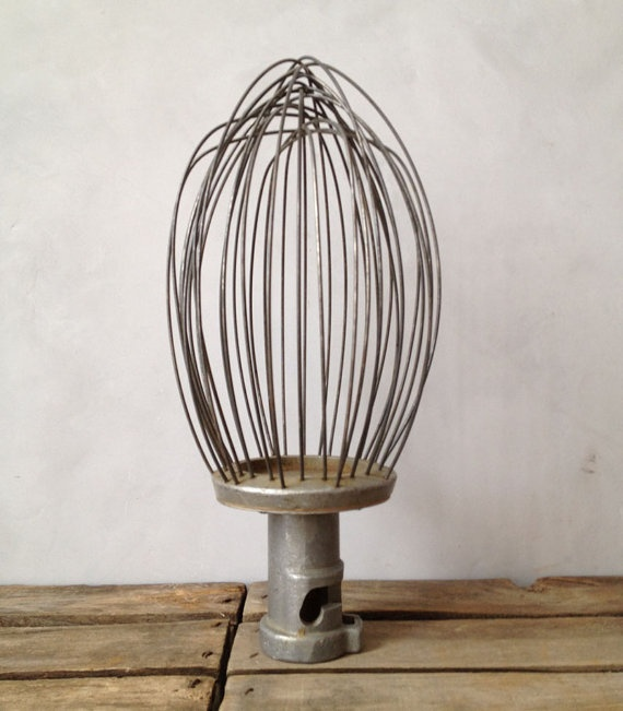 RESERVED FOR TFAWA  Industrial Whisk by jerseyicecreamco on Etsy! This will become a light fixture!