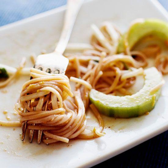 Udon Noodles with Citrus Vinaigrette  | Food & Wine