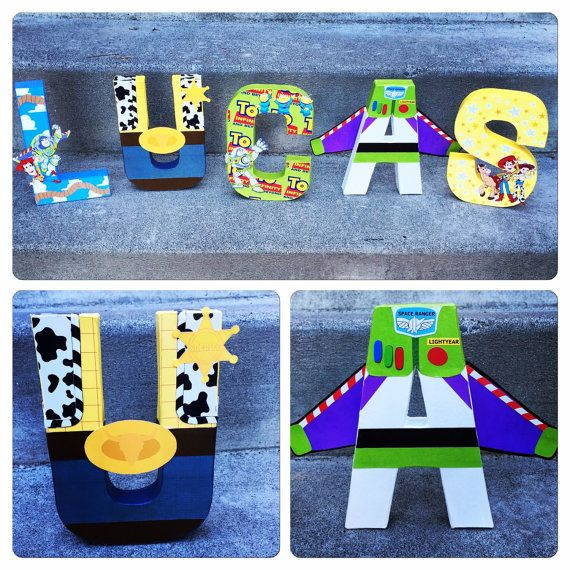 Custom Handmade Toy Story Themed Bedroom by TheLittleThingsHouse