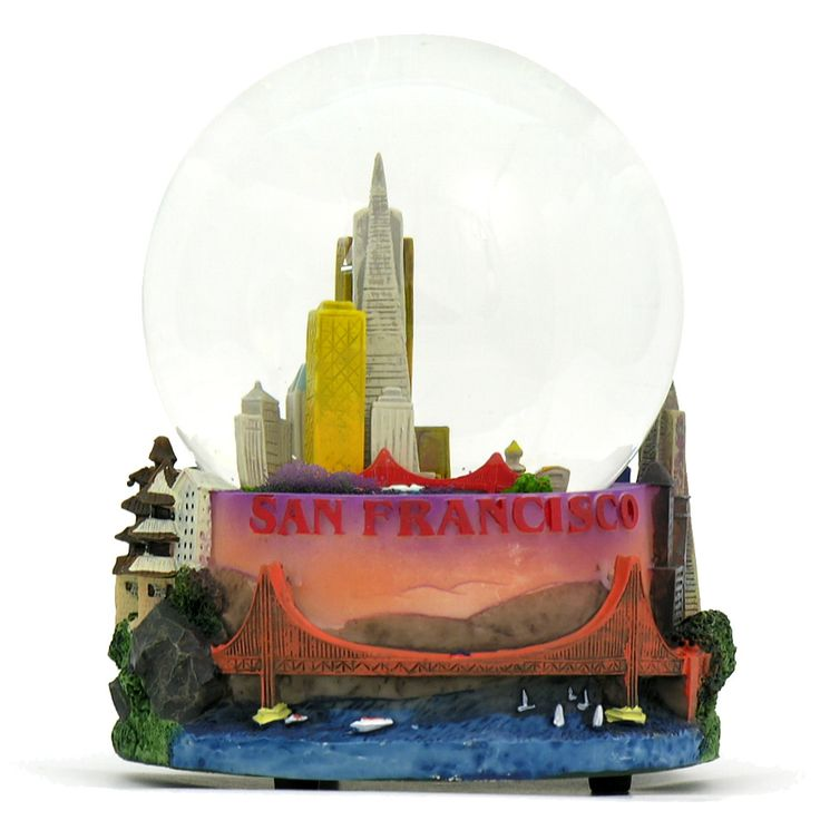 CitySouvenirs.com - Musical San Francisco Snow Globe, $34.99 (http://www.citysouvenirs.com/musical-san-francisco-snow-globe/)