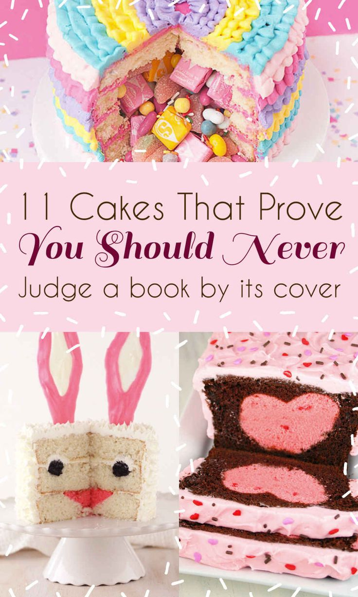 11 Cakes That Prove You Should Never Judge A Book By Its Cover