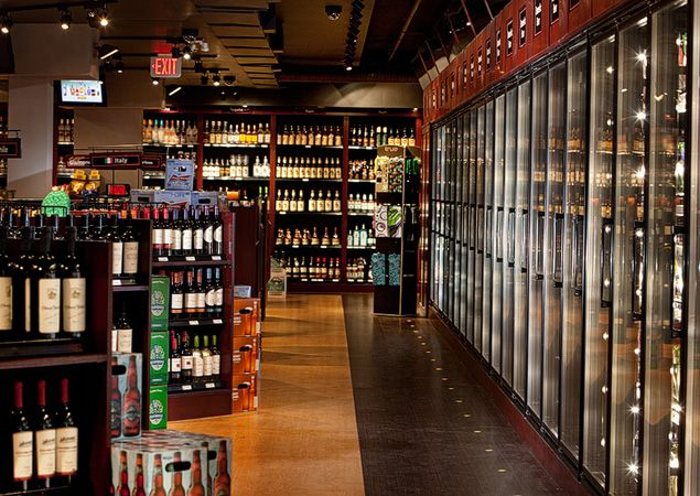 Liquor store design Applied design knowledge  Metamorphous Interiors Ltd  job design in 2019