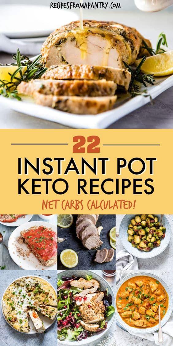 Diese fantastische Sammlung von bewährten Keto Instant Pot Rezepten beinhaltet eine …